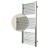 OEG bathroom radiator Taio stainless steel brushed
