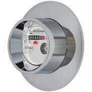 Allmess Flush-mounted water meter for hot water incl calibration fee