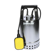Zehnder submersible waste water pump stainl. steel E-ZW 50A-2 float switch