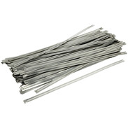 Stainless steel cable ties 12 x 450 mm ladder type UV-resistant