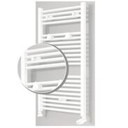OEG bathroom radiator set Bahama straight