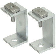 Hanger bolt adapters, 2 pcs. for connection to the mounting profile