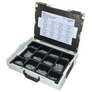 Sortimo L-Boxx equipped with tapping screws with cross recess