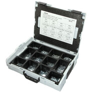 Sortimo L-Boxx fitted with hex nuts and U-washers