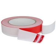 Masking tape red/white 25 mm