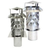 Chimney cowls Windkat system with plug-in supports