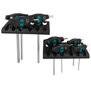 T-handle screwdriver set 7 pieces with holding function for hexagon sockets screws 05023450001