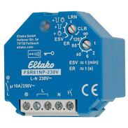 Eltako Wireless actuator impulse switch with integrated relay FSR61NP-230V 30100030