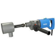 Baier Elektrowerkzeuge Dry diamond core drilling machine with soft impact function in a set for socket sinking 71431