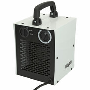 Electric heater with 1 - 2 kW 2-stage heat capacity