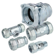 Gebo malleable cast-iron clamp connectors