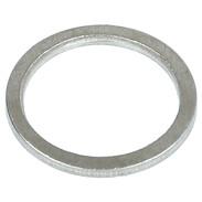 "gasket 1/8"", aluminium 10 x 14 x 1 mm"