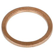 "gasket 3/8"", copper 17 x 21 x 1.5 mm"