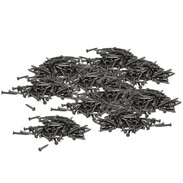 Steel nails 16 mm x Ø 2 mm galvanised (10 x 100 pcs.) hardened