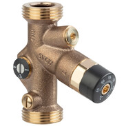 "Easytop circulation regulation valve in DN15 with 3/4"" G"