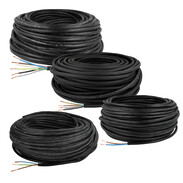 Light-duty rubber-sheathed cables H05RR-F