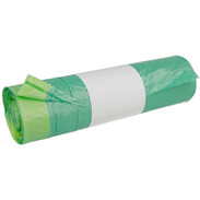 HDPE garbage bags with drawstring 60 litres