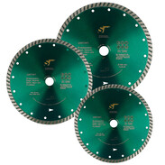 All-purpose diamond blades for brick and natural stone