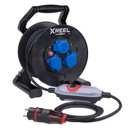 Safety cable reel  XREEL250 with PRCD-S+ 9250027