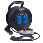 Safety cable reel XREEL310 with PRCD-S+ 9350001