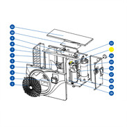 4-way valve for OEG pool heat pump