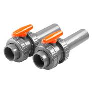 Ball valve set for BADU JET Smart