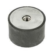 Rubber buffer 50 x 30 mm M10