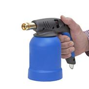 Soldering gun with piezo ignition for 190-gram cartridge