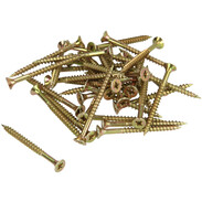 Chipboard countersunk screw with cross recess