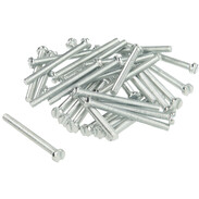 Cylinder screw, slotted