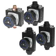 Heating circulation pumps with a delivery head of up to 6 m