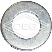 Washers DIN 125, stainless steel