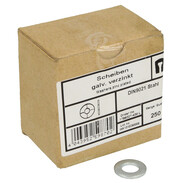 Washers DIN 9021, galvanised