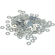 Washers DIN 125, galvanised