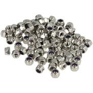 Hex lock nuts, stainless steel