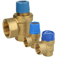 Safety valves for drinking water