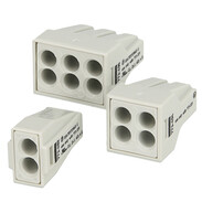 Wago Push Wire connectors for junction boxes 773 Ex e series