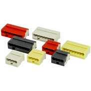 Wago MICRO push-wire connectors for junction boxes 243 series