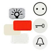 Busch-Jaeger push-switch symbols