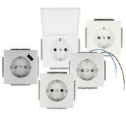 Busch-Jaeger SCHUKO® socket outlet insert future® linear / carat®