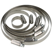 Worm-drive clamps