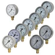 Capsule-type pressure gauge