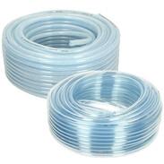 PVC tubes transparent