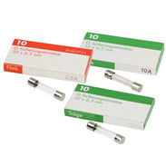 Fine-wire fuses 32 x 6.3 mm