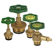 Bonnets for straight-seat valves with rising stem
