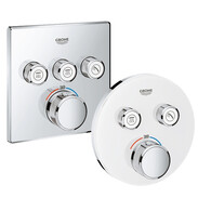 GROHE Grotherm SmartControl range