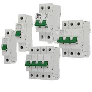 Miniature circuit breakers B and C characteristics