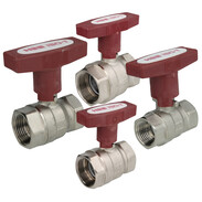 Ball valves with ISO T-handle IT/IT