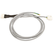 Adapter cable 2 m +  burner motor conn. AMP connector m/f f. magnetic connection