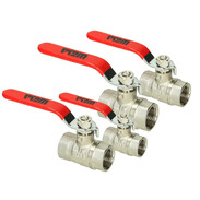 WESA ball valves for heating systems